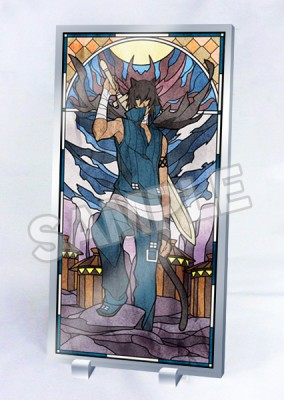 Lamento -BEYOND THE VOID-: Stained Glass Style Acrylic Panel - Asato Ver.