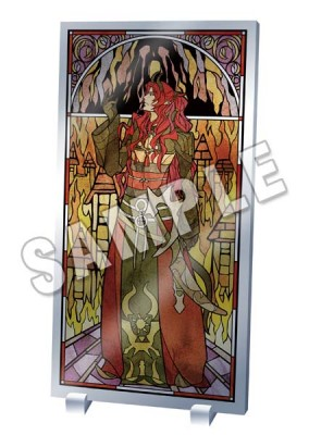Lamento -BEYOND THE VOID-: Stained Glass Style Acrylic Panel - Razel Ver.