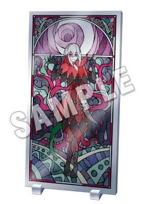 Lamento -BEYOND THE VOID-: Stained Glass Style Acrylic Panel - Firi Ver.