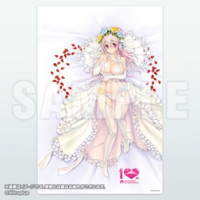 SUPER SONICO: 10th Anniversary Bed Sheets