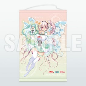 Racing Miku 2017 Ver. & Super Sonico Collaboration B2-Size Tapestry