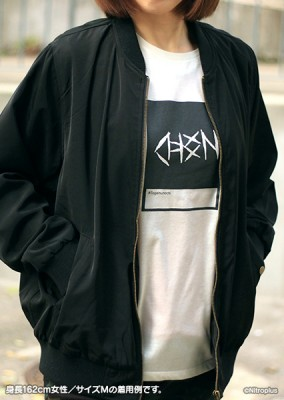 TOGAINU NO CHI: Original Monochrome T-Shirt【L-Size】