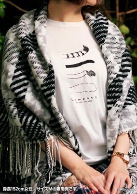 Lamento -BEYOND THE VOID-: Original Monochrome T-Shirt【L-Size】