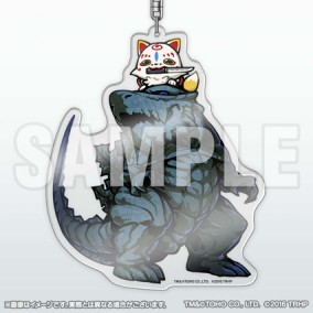 GODZILLA Planet of the Monsters × Touken Ranbu - Hanamaru -  ~Makuaikaisoroku~ Konnosuke Collaboration Acrylic Key Holder
