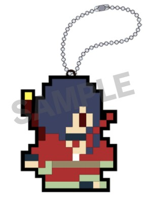 DRAMAtical Murder: Rubber Key Holder - Koujaku 8-Bit Ver.