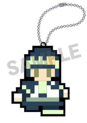 DRAMAtical Murder: Rubber Key Holder - Noiz 8-Bit Ver.