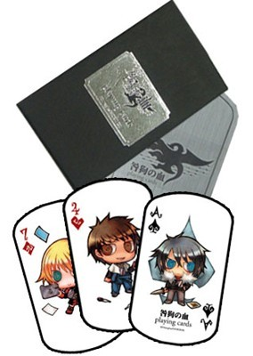 TOGAINU NO CHI: Playing Cards