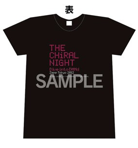 THE CHiRAL NIGHT -Dive into DMMd-: Live Concert T-Shirt -  Men's Extra-Small