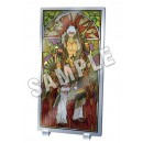Lamento -BEYOND THE VOID-: Stained Glass Style Acrylic Panel - Verg Ver.