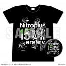 Nitroplus 15th Anniversary T-Shirt and Pin Badge Set (Black)