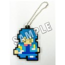 DRAMAtical Murder: Rubber Key Holder - Aoba 8-Bit Ver.