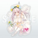 Super Sonico: 10th Anniversary Special Acrylic Key Holder