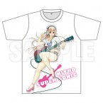 NITRO SUPER SONIC: High Quality T-Shirt - SUPER SONICO (Men's Large)