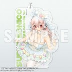 SUPER SONICO: Acrylic Key Holder - First Astronomical Velocity RAINBOW Ver.