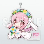 Super Sonico: Acrylic Key Holder - 10th Anniversary Ver.