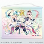 Racing Miku 2018 ver. & Super Sonico Collaboration B2 Tapestry
