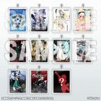 Nitroplus Package Art Acrylic Key Holder Collection
